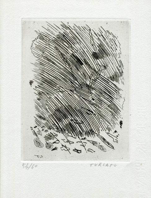 Giulio Turcato, 'Untitled', 1962-1964, Print, Etching on Paper, Studio Mariani Gallery