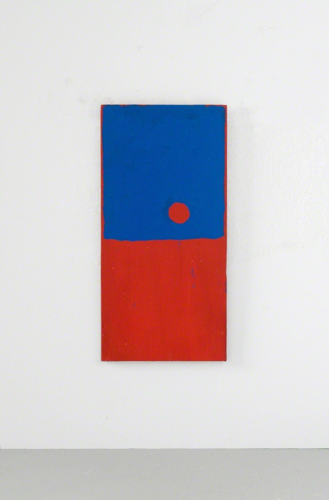 Clay Mahn | Sonne DD | 2018 | oil and acrylic on canvas over panel | 66 x 34 inches