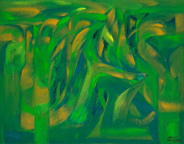 , 'Green Forest,' 2015, Hai Hui Gallery