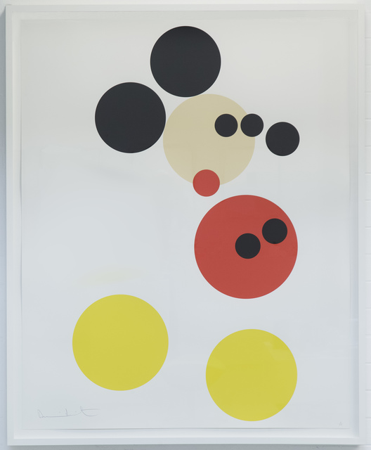 """Damien Hirst, 'Mickey"""" large version Ed. 50', 2014, MultiplesInc Projects"""