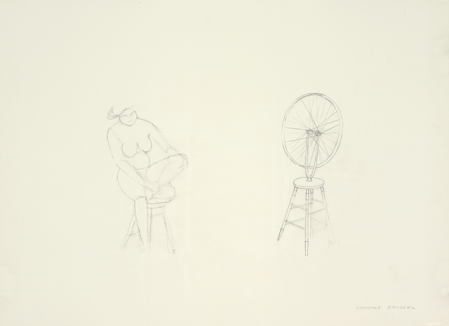 , 'Raymond Roussel,' 2008, Barbara Gross