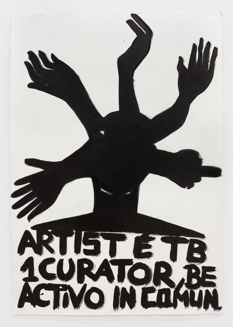 , 'Tentáculos (The Artist is Also a Curator),' 2016, Múrias Centeno