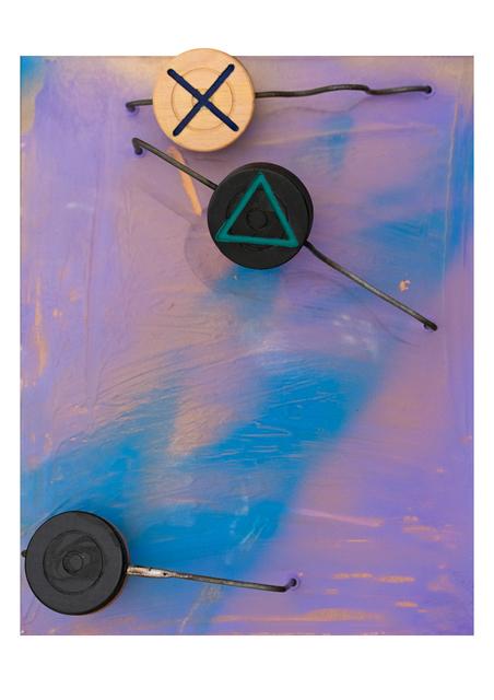 Alyazia Bint Nahyan, 'Carrom station in motion', 2019, Janet Rady Fine Art