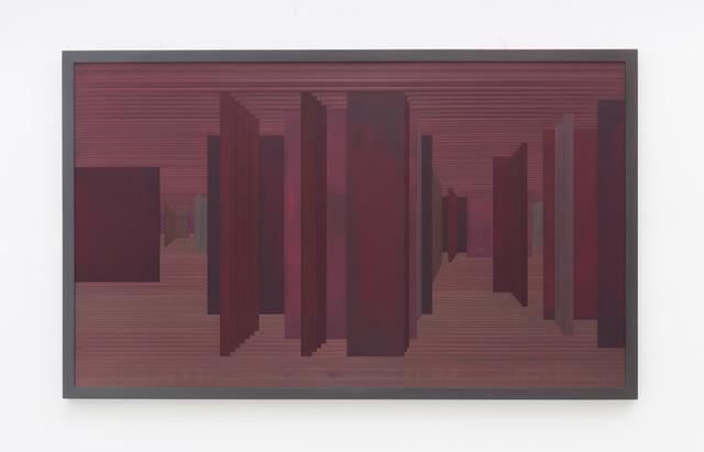 , 'Labirinto Rizomático - V D series - red,' 2018, Zipper Galeria