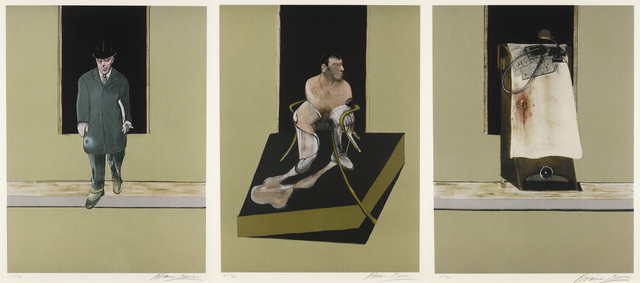 , 'Triptych 1986-1987,' 1987, Galerie Raphael