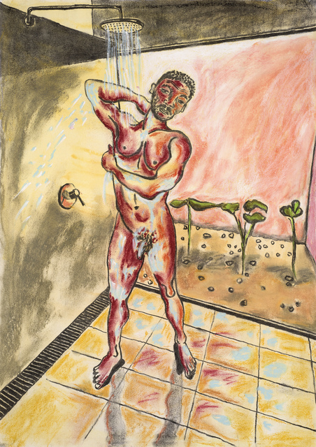 Christabel MacGreevy, 'Man in the Shower Somewhere Hot III', 2019, Cob