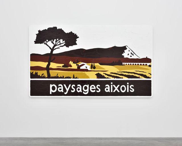 , 'Paysages aixois,' 2014, Almine Rech