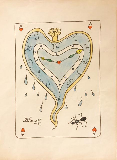 Salvador Dalí, 'Ace of Hearts', ca1970, Acquisitions Of Fine Art