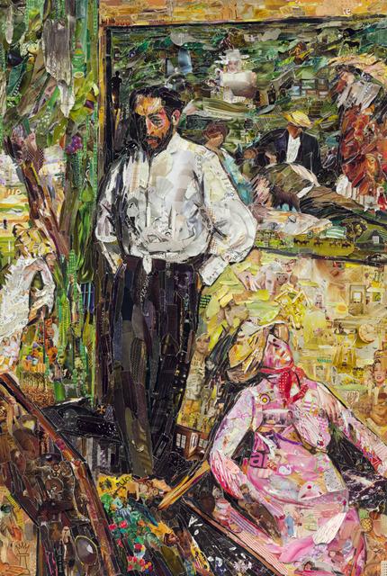 Vik Muniz, 'Pictures of Magazine 2: Man and Puppet, after Edgar Degas', 2013, Galeria Nara Roesler