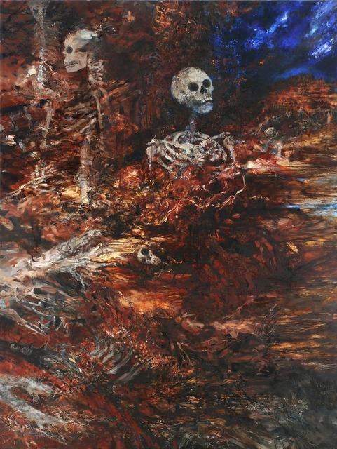 Joyce Yamada, 'Yorick Enters the Galactic Salt Marsh', 2017, Amos Eno Gallery