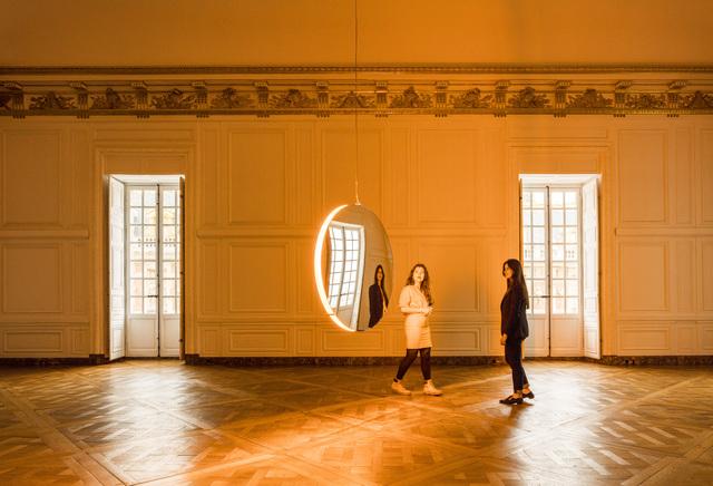 , 'Solar Compression,' 2016, Château de Versailles