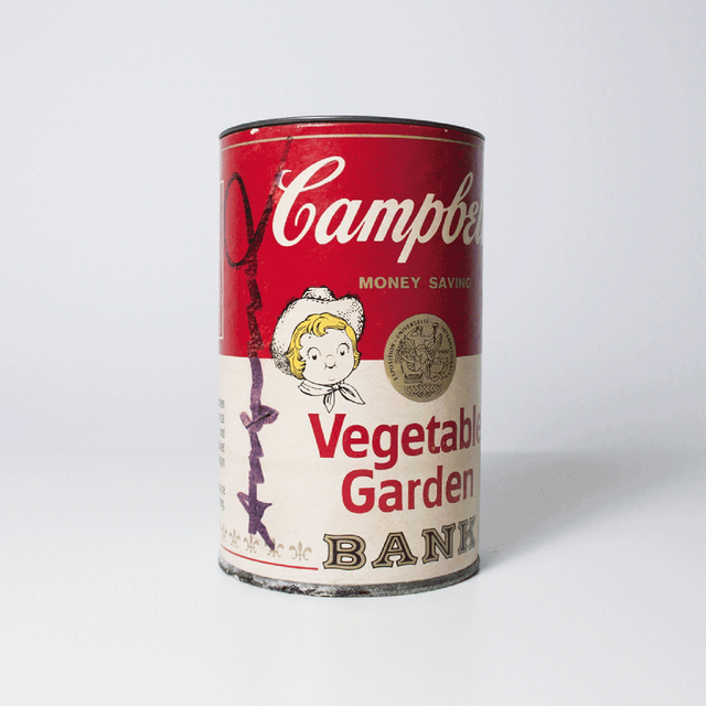 Andy Warhol, 'Campbell's Soup Can Bank (Vegetable Garden)', 1977, MLTPL