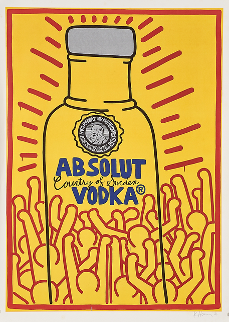 Keith Haring, 'Absolut Haring', 1986, Rago/Wright