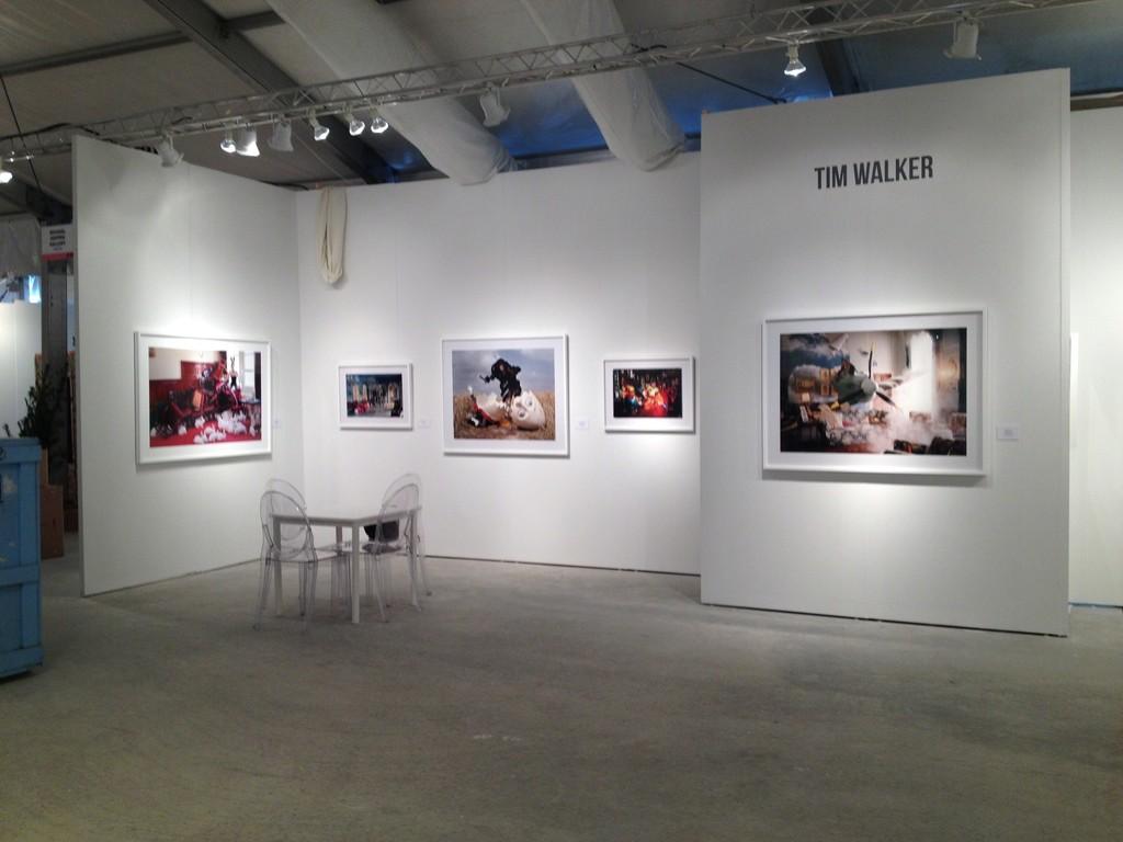 Tim Walker booth at Miami Art fair