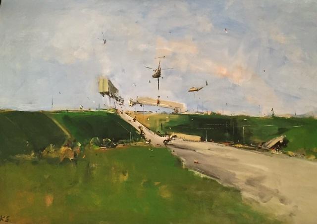 """, '""""The Road 17"""",' 2016, Krokin Gallery"""