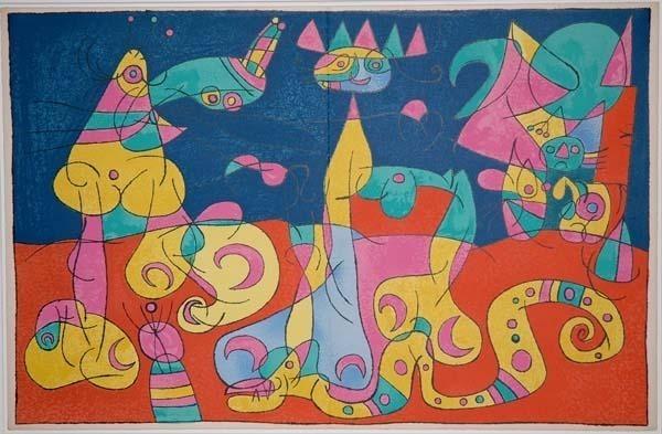 Joan Miró, 'IV. Ubu Roi: La Revue', 1966, Contessa Gallery