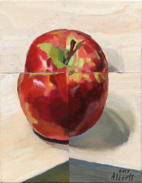 , 'Three Views of the Apple,' 2017, Charles Nodrum Gallery