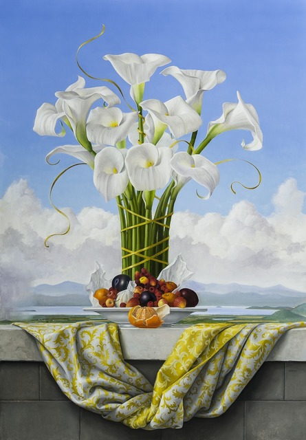 , 'Calla Lilies,' 2013, Clark Gallery