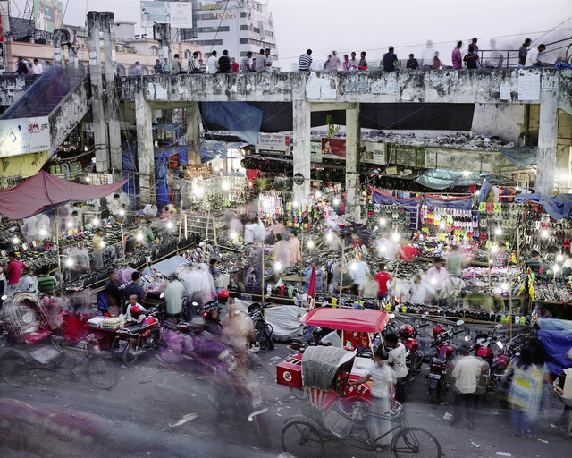 , 'New Market, Dhanmondi, Dhaka, Bangladesh - From the Series 'Metropolis',' 2011, East Wing