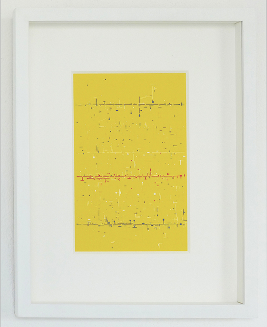 Marco Maggi, 'Verbos Irregulares (Yellow)', 2017, Galería del Paseo