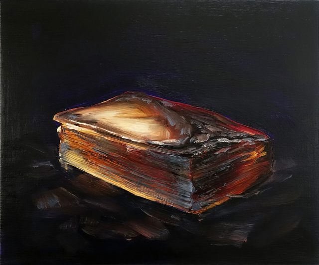 , 'Book/Ash,' 2018, Hosfelt Gallery
