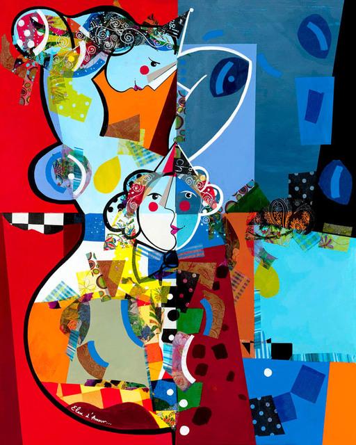 , 'Elan d'amour (Original),' 2015, Eden Fine Art