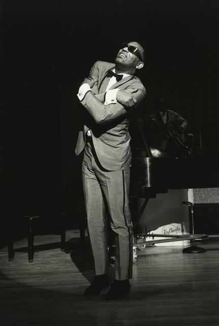 , 'Ray Charles Hugging, New Jersey,' 1964, Howard Greenberg Gallery