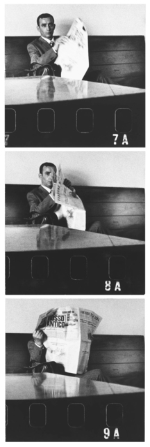 , 'Cesena, Sala di attesa,' 1967, SAGE Paris
