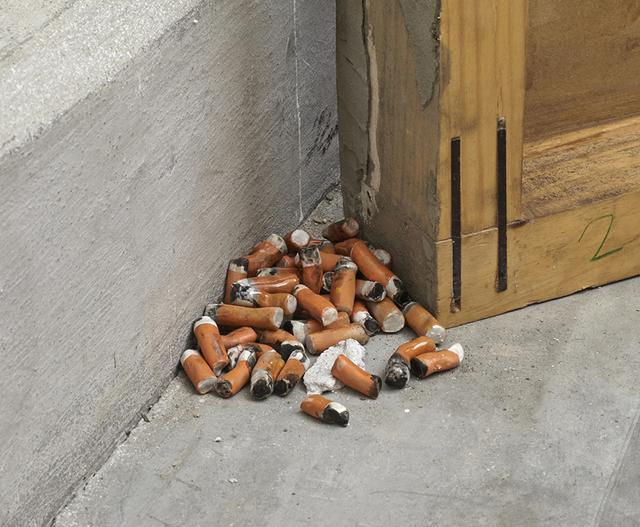 , 'Gone Cigarretes (222 units),' 2016, Y Gallery