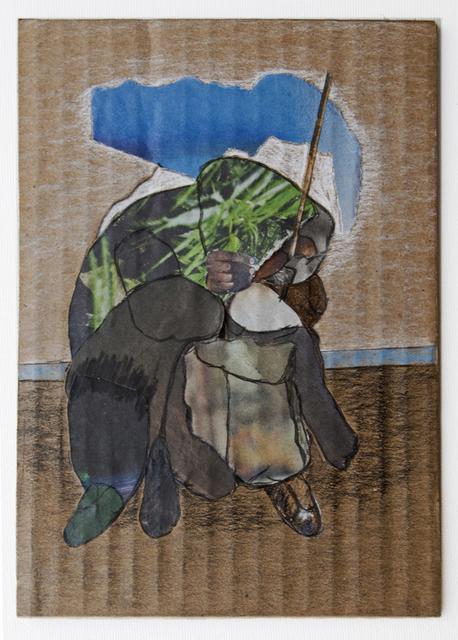 , 'Man_Forrest (Cardboard Portraits Series),' 2015, Fanny Allié + Ketta Ioannidou