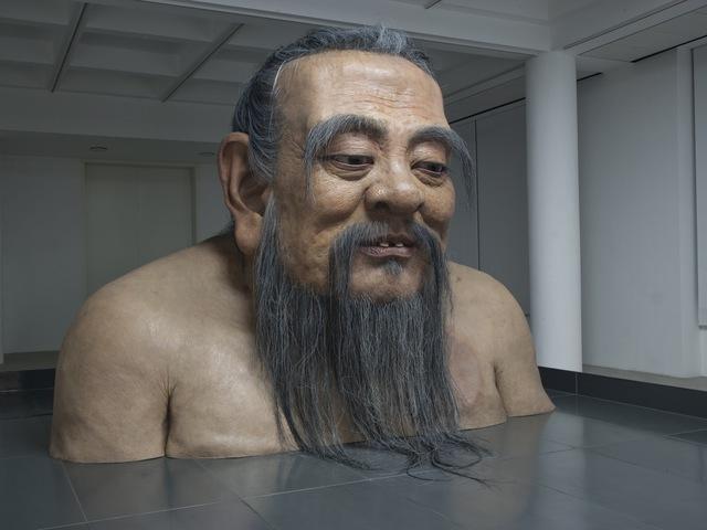 , 'Q-Confucius No. 2,' 2011, Rockbund Art Museum