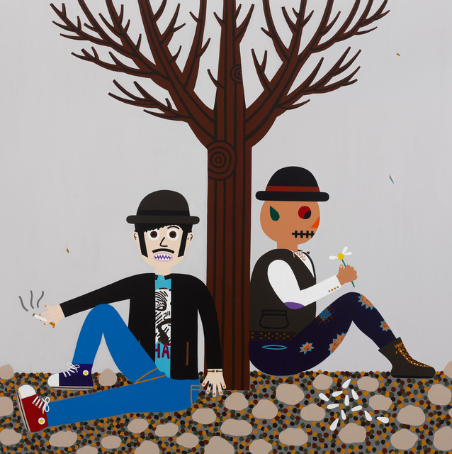 , 'Waiting for Godot,' 2012, Galería Pelaires