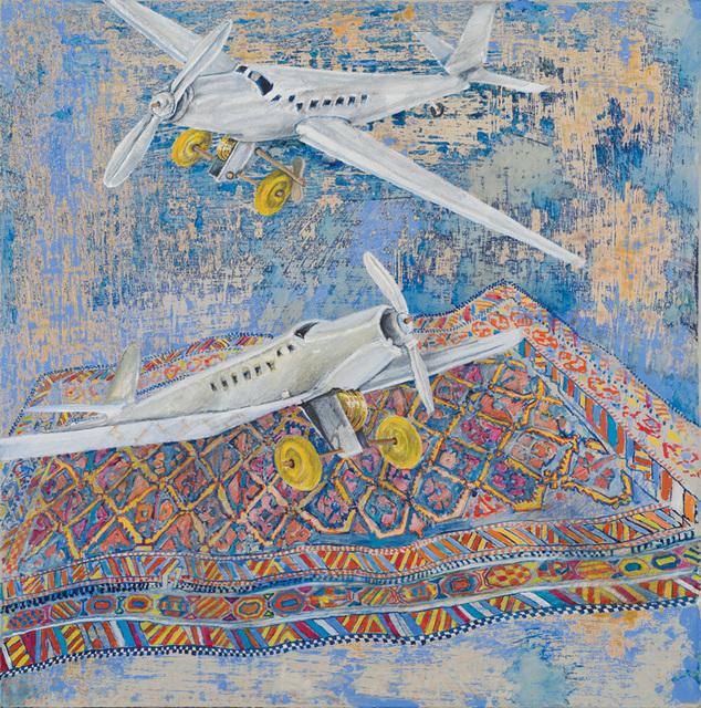 , 'White Planes,' 2013, RYAN LEE