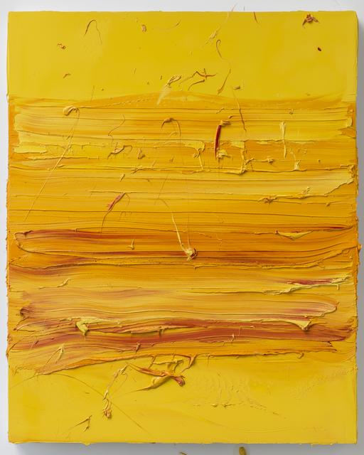 , 'Untitled (Permanent Yellow / Madder Lake),' 2017, Mimmo Scognamiglio / Placido