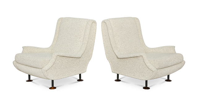 ", 'Pair of ""Regent""  Club Chairs,' , Donzella LTD"