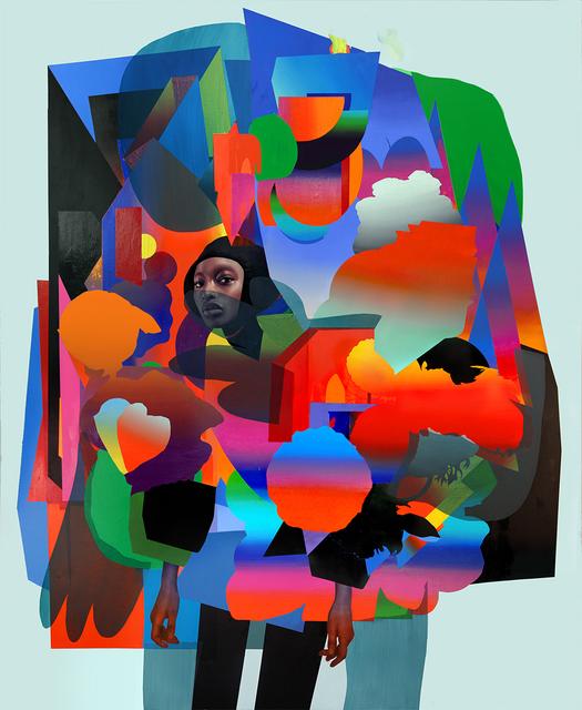 , 'Armor,' 2017, Jonathan LeVine Projects