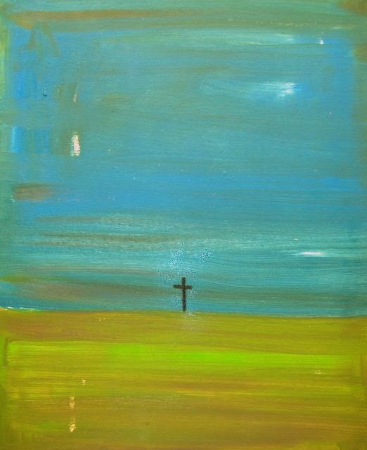 , 'Cross,' 2013, Sic