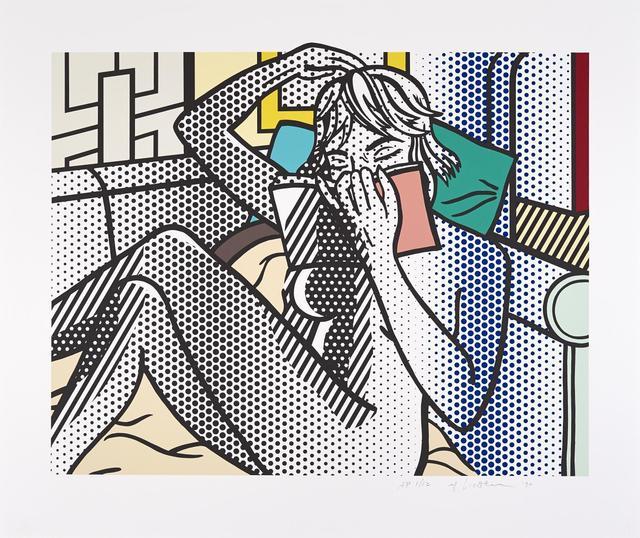 Roy Lichtenstein, 'Nude Reading', 1994, Kings Wood Art