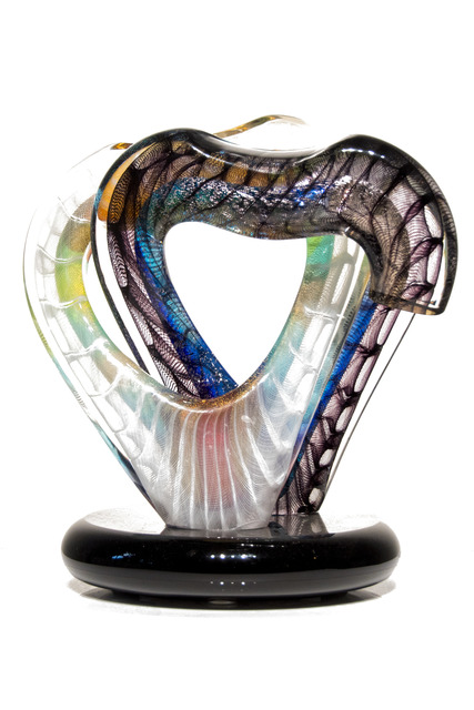 , 'Entwined Hearts,' 2015, Murano Midwest