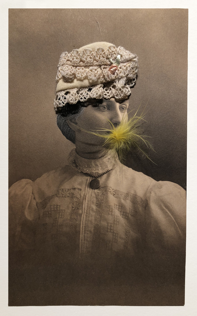 , 'Woman in a Lace Hat Eating a Canary #6,' 2006, Laurence Miller Gallery