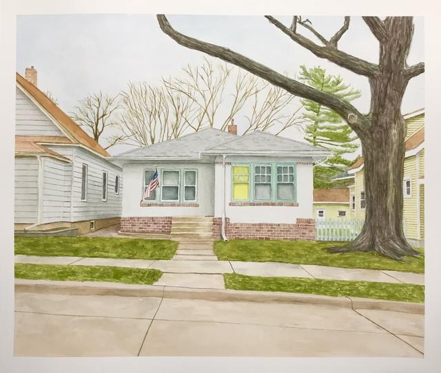 Joshua Huyser, 'Landscape with Yellow Window', 2018, Burnet Fine Art & Advisory