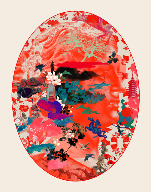 Guang-Yu Zhang, 'Dreamy Figure R', 2015, Print, Digital print on Hahnemuhle Smooth Fine Art Paper 305gsm, A.Style