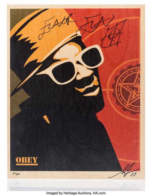 Shepard Fairey (OBEY), 'Flavor Flav', 2011, Heritage Auctions