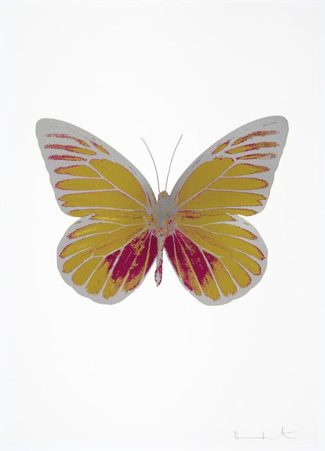 , 'The Souls I  (Oriental Gold - Fuchsia Pink - Silver Gloss) ,' 2010, Galerie de Bellefeuille