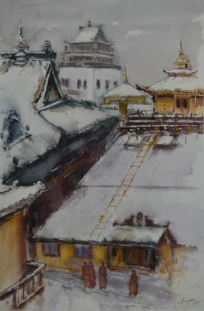 , 'Landscape of the Ulaanbaatar City,' 2017, Best Art Gallery