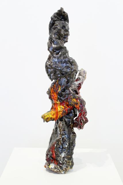 , 'PushMoon2, Figures with Shadows 3,' 2016, James Harris Gallery