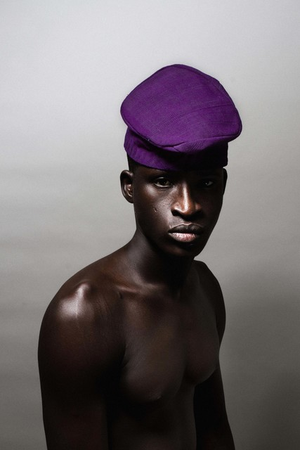 , 'Untitled (Purple Hat),' 2014, WHATIFTHEWORLD