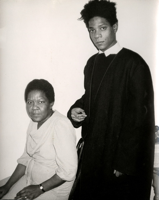 Andy Warhol, 'Jean-Michel Basquiat and His Mother', ca. 1984, Hedges Projects