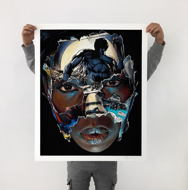 , 'La Cage; ces yeux pleins de lumière,' 2018, Galerie C.O.A
