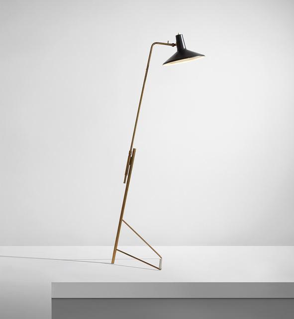 Gino Sarfatti, 'Adjustable floor lamp, model no. 1045', circa 1948, Phillips